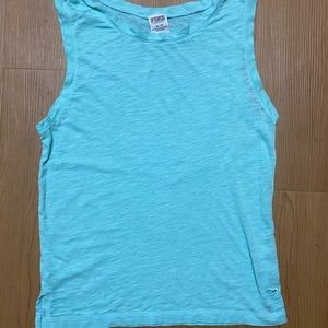 Victoria's Secret pink tank top size XS blue